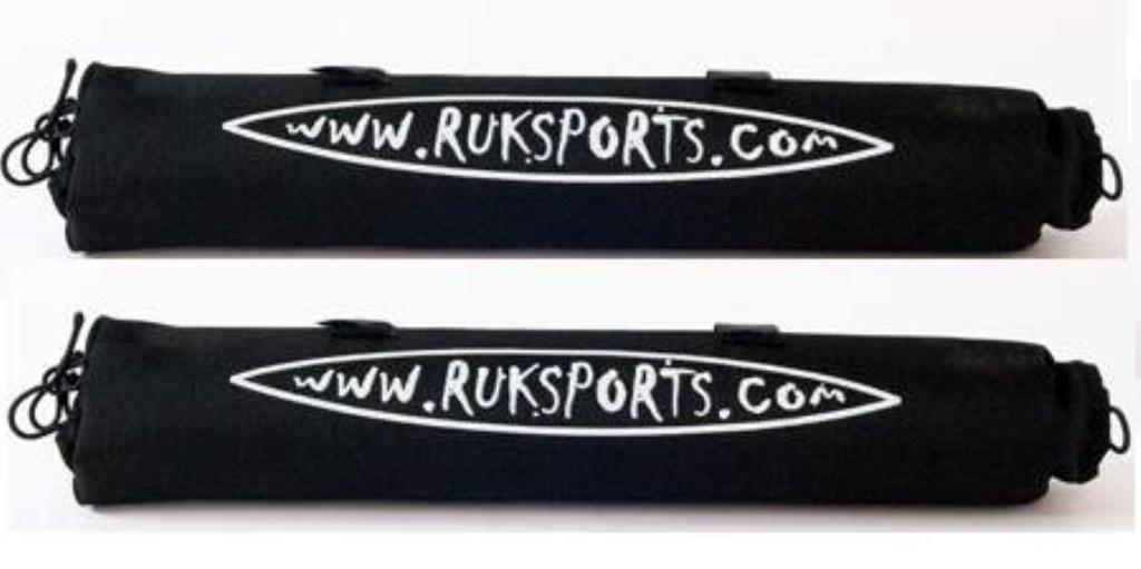 RUK Roof Bar Pads For Kayak / Canoe Protection For Roof Racks New
